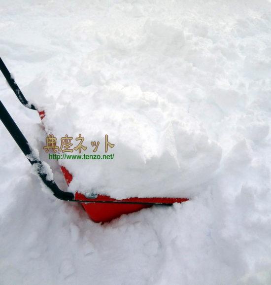12月の大雪
