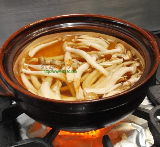 きのこのおかゆ_精進料理レシピ