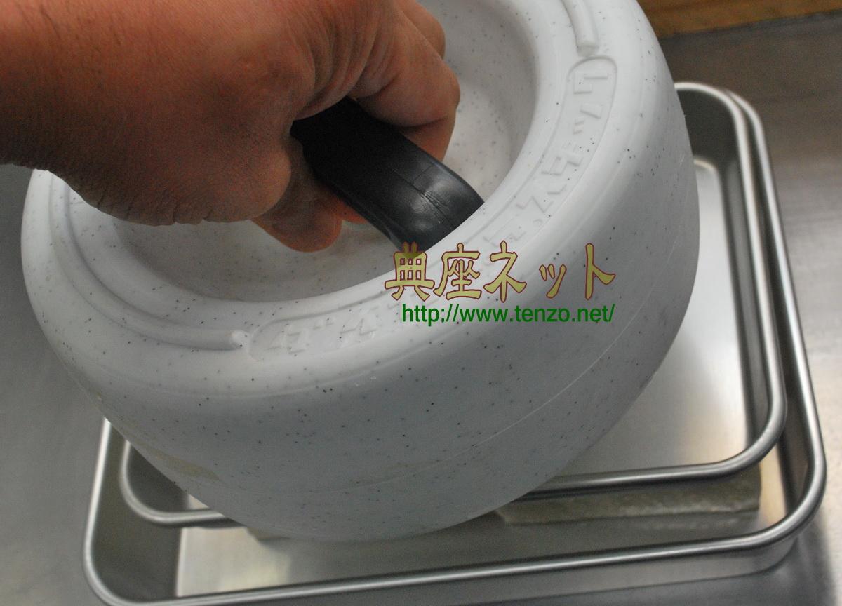 押し豆腐の下処理方法