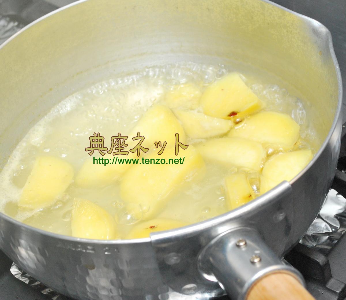 芋ようかん_精進料理スイーツ手順
