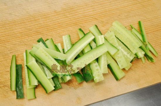 大豆もやしと胡瓜の吉野酢