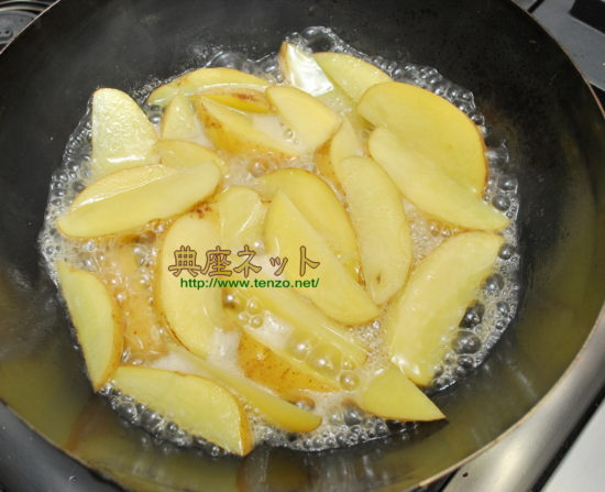 馬鈴薯の南蛮炒め