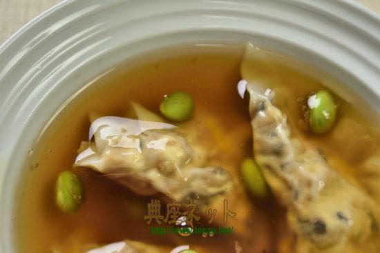 精進ワンタンスープレシピ