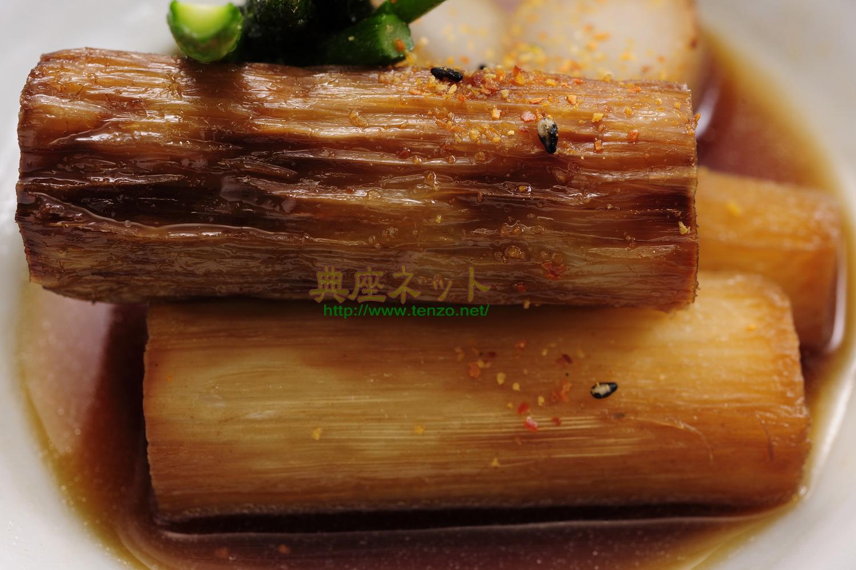 うどの揚煮_精進料理レシピ
