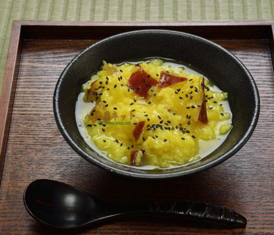 さつまいものおかゆ_精進料理レシピ