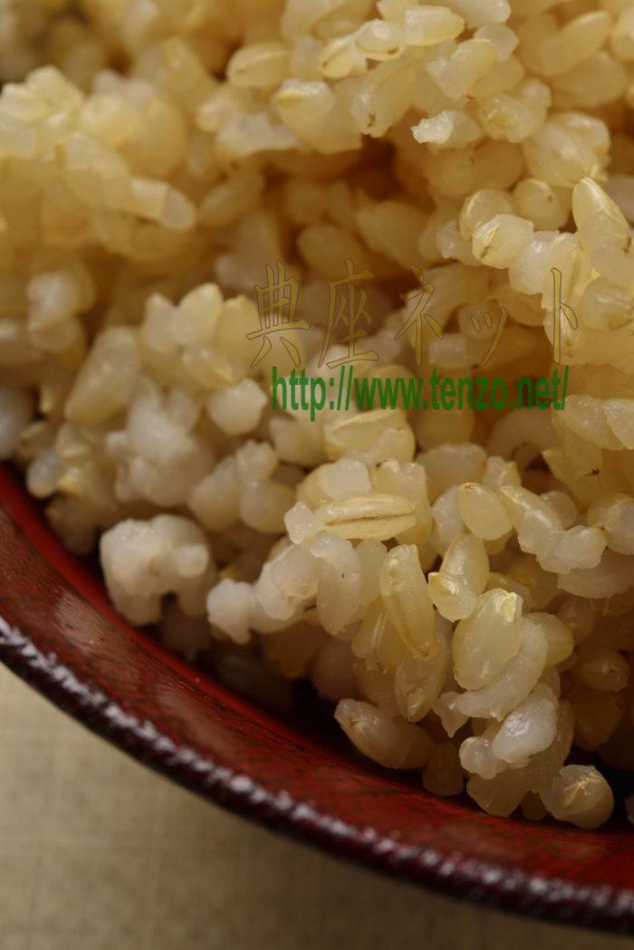 玄米麦ご飯_精進料理レシピ