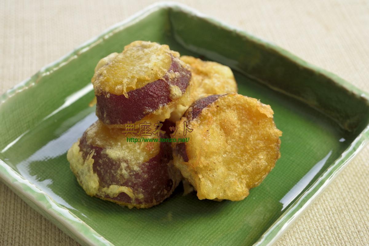 さつまいもの煮物の天ぷら