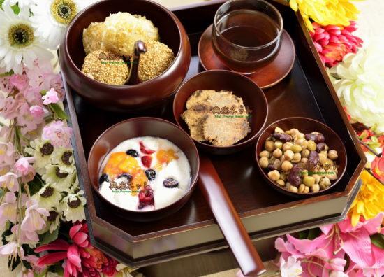 花祭りの祝い膳_2500年前お釈迦様時代の料理再現